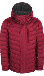 Куртка мужская (пуховик) зима 862БМ/78 красный/серый AutoJack — фото 1