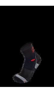 Носки BRBL BORNEO 2 Black/Black/Red BRBL — фото 1