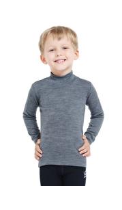 Водолазка детская с длинным рукавом Soft City Style Серый меланж Norveg — фото 1