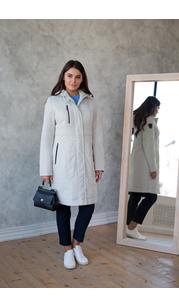 Пальто женское дс 848 Светло-серый Nord Wind — фото 1