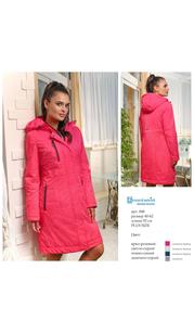 Пальто женское дс 848 Ярко-розовый Nord Wind — фото 1