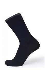Носки женские Dry Feet д/мембр. обуви Черный/Серая полоса Norveg — фото 1