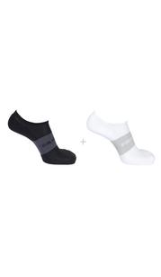 Носки SOCKS SONIC 2-PACK чёрный/белый Salomon — фото 1