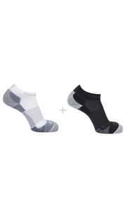 Носки SOCKS CROSS 2-PACK белый/чёрный Salomon — фото 1