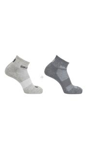 Носки EVASION 2-PACK светло-серый/серый Salomon — фото 1