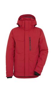 Куртка мужская SEBASTIAN Красный-кардинал Didriksons — фото 1