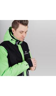 Горнолыжная куртка мужская NORDSKI Extreme Black/Lime NordSki — фото 1