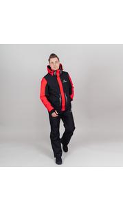 Горнолыжная куртка мужская NORDSKI Extreme Black/Red NordSki — фото 1