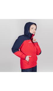 Утепленная куртка женская NORDSKI Mount Red/Dark Blue W NordSki — фото 1