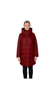 Куртка женская зима пуховик 3224БМ/90 красный LimoLady — фото 1