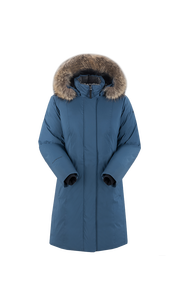 Пальто женское Камея М Индиго Sivera — фото 1