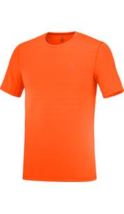 Футболка мужская XA TEE M PUREED/Red Orange/Heat Salomon — фото 1