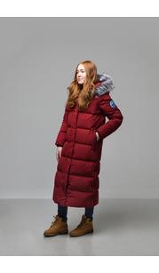 Пальто женское Эстери винный Laplanger — фото 1