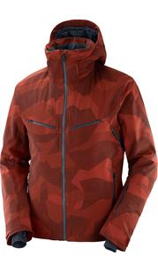 Куртка мужская BRILLIANT JKT M RUM RAISIN/AO Salomon — фото 1