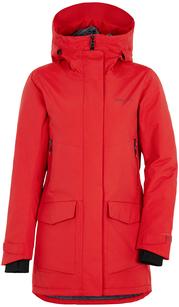 Куртка женская FRIDA  розовый помидор Didriksons — фото 1