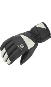 Перчатки мужкие FORCE M Black/Wrought Iron Salomon — фото 1