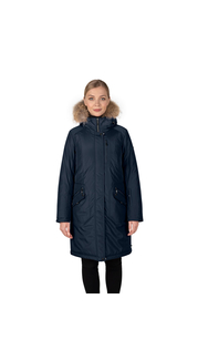 Куртка женская зима 3215Е/95 тёмно-синий LimoLady — фото 1