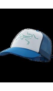 Бейсболка BIRD TRUCKER HAT Cobalt Sun/DelosGrey Arc'teryx — фото 1