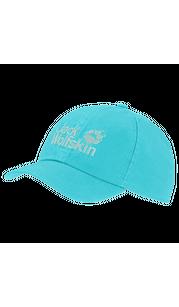 Бейсболка KIDS BASEBALL CAP ярко-голубой Jack Wolfskin — фото 1
