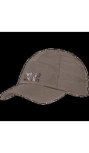 Бейсболка TEXAPORE BASEBALL CAP серый Jack Wolfskin — фото 1