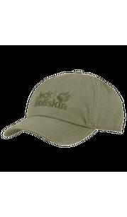 Бейсболка BASEBALL CAP хаки Jack Wolfskin — фото 1