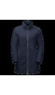 Куртка женская HIGH CLOUD COAT W Midnight Blue Jack Wolfskin — фото 1