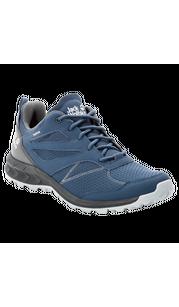 Ботинки мужские WOODLAND TEXAPORE LOW синий/серый Jack Wolfskin — фото 1