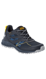 Ботинки WOODLAND TEXAPORE LOW K синий/жёлтый Jack Wolfskin — фото 1