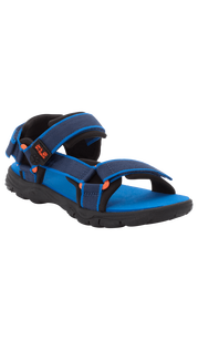 Сандали SEVEN SEAS 3 K синий/оранжевый (31-33) Jack Wolfskin — фото 1