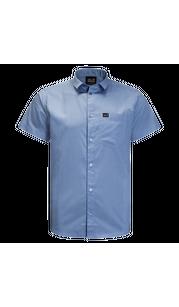 Рубашка мужская NATA RIVER голубой Jack Wolfskin — фото 1