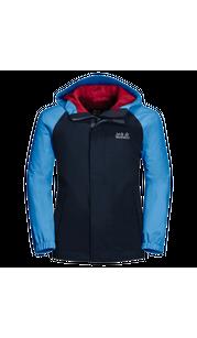 Куртка TUCAN JACKET KIDS синий (116-152) Jack Wolfskin — фото 1