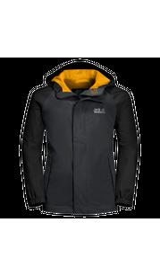 Куртка TUCAN JACKET KIDS серый (140-152) Jack Wolfskin — фото 1