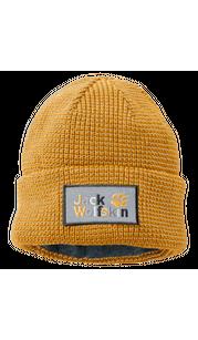 Шапка NIGHT HAWK CAP KIDS 3045 Sunflower Jack Wolfskin — фото 1