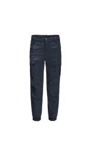 Брюки TREASURE HUNTER PANTS KIDS темно-синий (116-152) Jack Wolfskin — фото 1