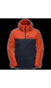 Куртка мужская DESERT WIND  красный Jack Wolfskin — фото 1
