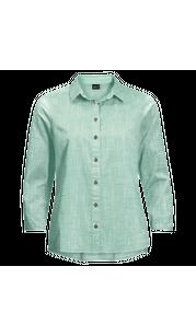 Рубашка женская EMERALD LAKE Light Jade Jack Wolfskin — фото 1