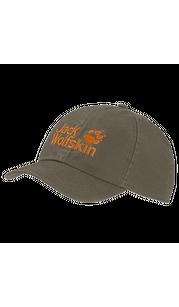 Бейсболка KIDS BASEBALL CAP оливковый Jack Wolfskin — фото 1