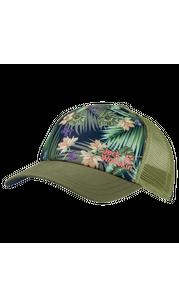 Бейсболка женская PARADISE CAP зеленый Jack Wolfskin — фото 1