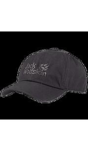 Бейсболка BASEBALL CAP серый Jack Wolfskin — фото 1