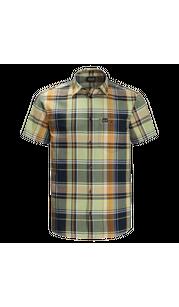 Рубашка мужская LITTLE LAKE зеленый, в клетку Jack Wolfskin — фото 1