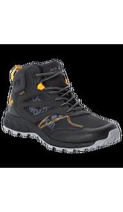 Ботинки WOODLAND TEXAPORE MID K черный (34-40) Jack Wolfskin — фото 1