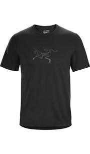 Футболка мужская CORMAC LOGO SS MENS Black Arc'teryx — фото 1