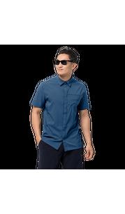 Рубашка мужская JWP SHIRT синий Jack Wolfskin — фото 1