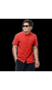 Рубашка мужская JWP SHIRT красный Jack Wolfskin — фото 1
