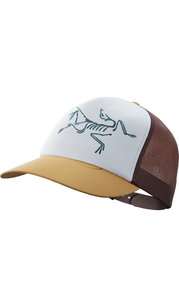 Бейсболка BIRD TRUCKER HAT Elk/Flux/DelosGrey Arc'teryx — фото 1