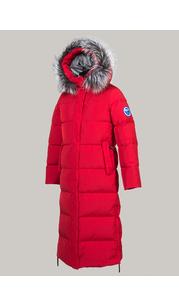 Пальто женское Эстери красный Laplanger — фото 1