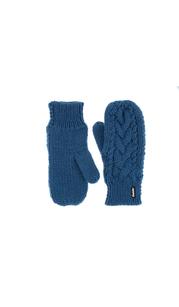 Варежки женские Afra Mittens   Синий Eisbär — фото 1