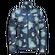 Куртка женская HELIUM HIGH PRINT синий Jack Wolfskin — фото 1