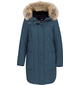 Куртка женская зима 3091Е серо-голубой LimoLady — фото 1