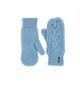 Варежки женские Afra Mittens  217 Серо-голубой Eisbär — фото 1